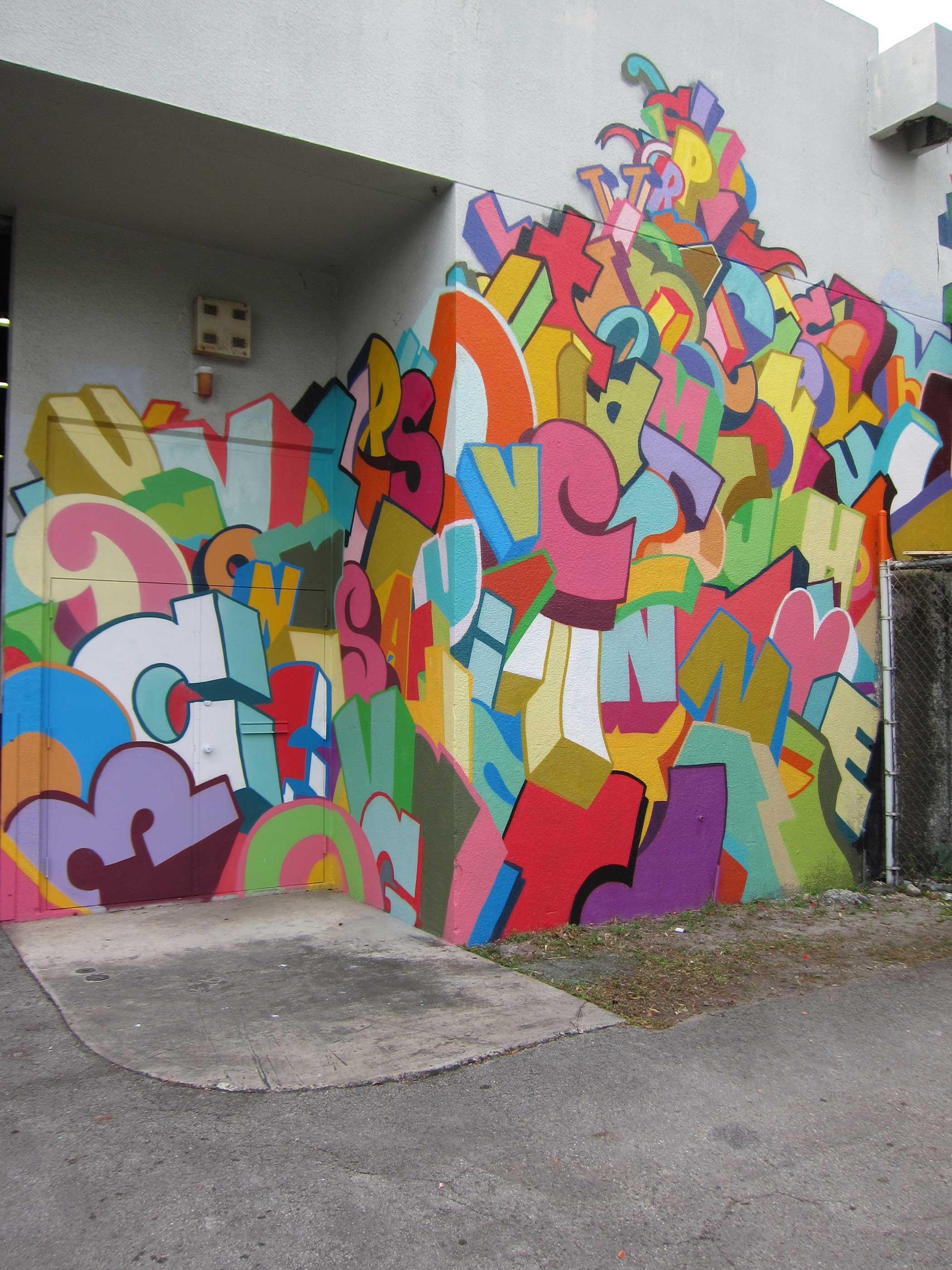 canada graffiti letters